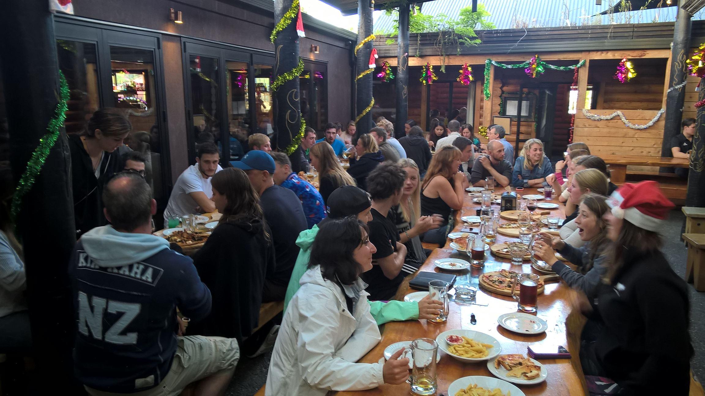 Pizzafest in Franz Joseph