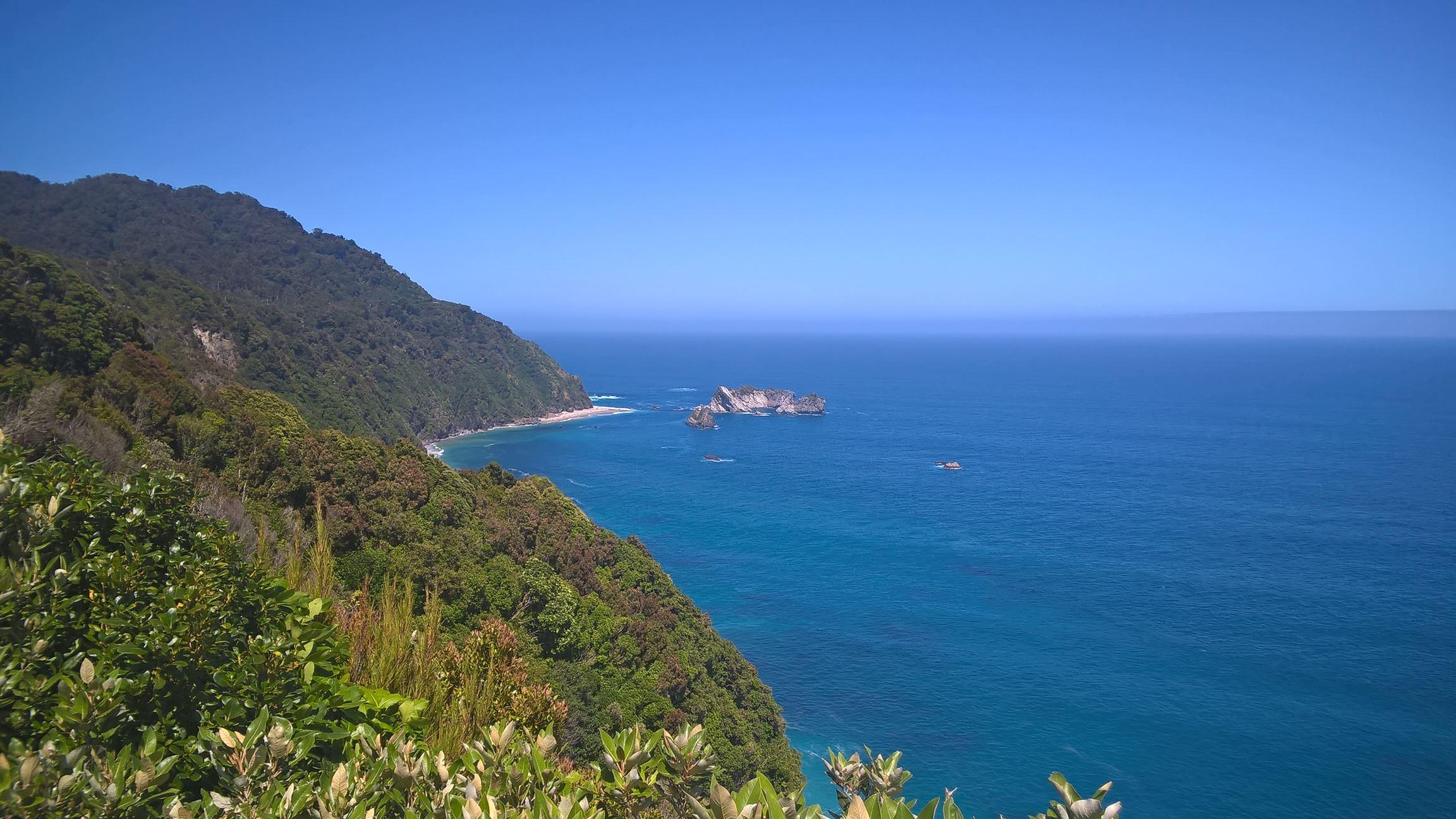 Die Westküste der Südinsel...