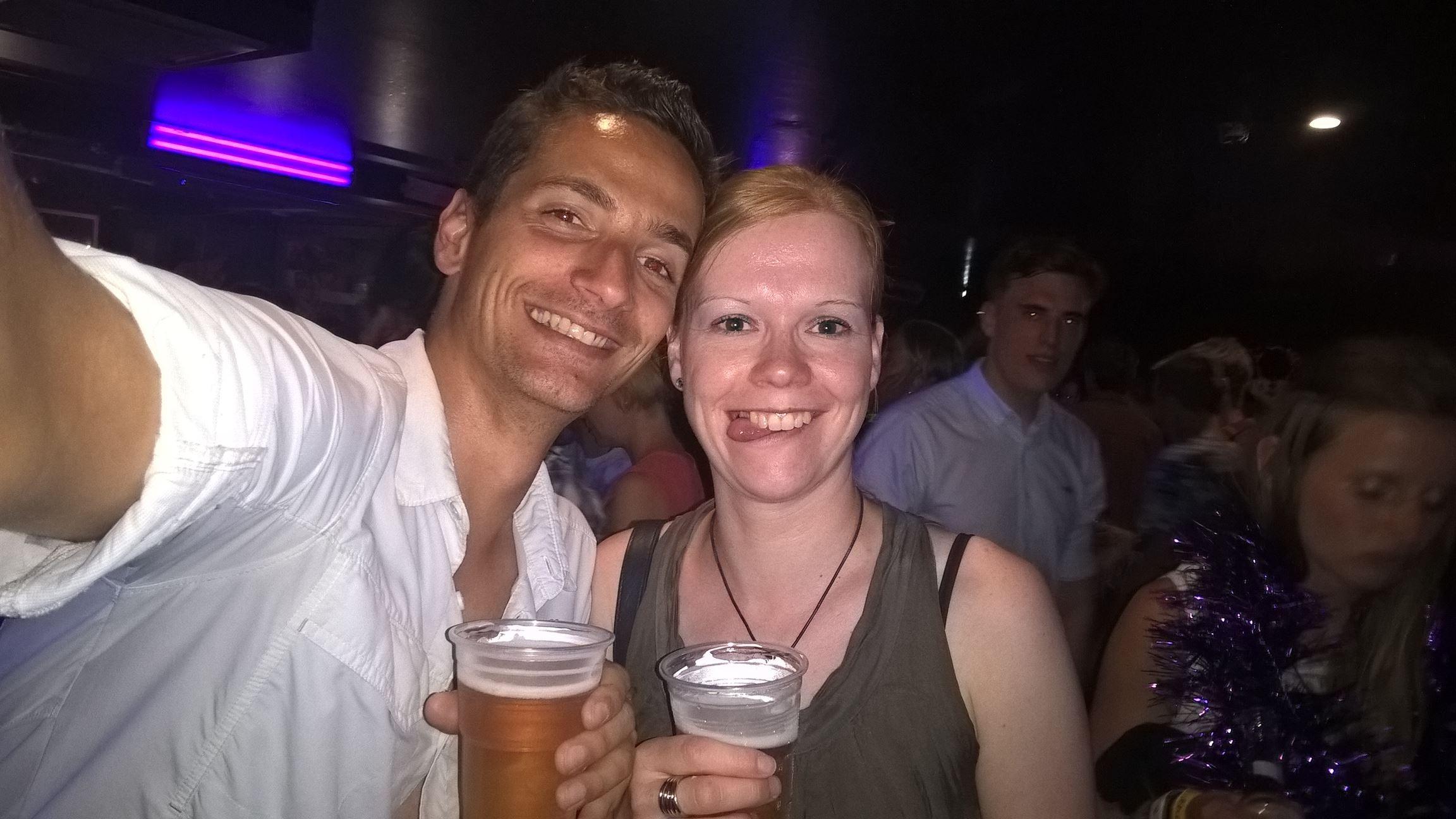 Unverhofft kommt oft: Ich treffe Petra zufällig wieder die ich in Pahia kennengelernt habe