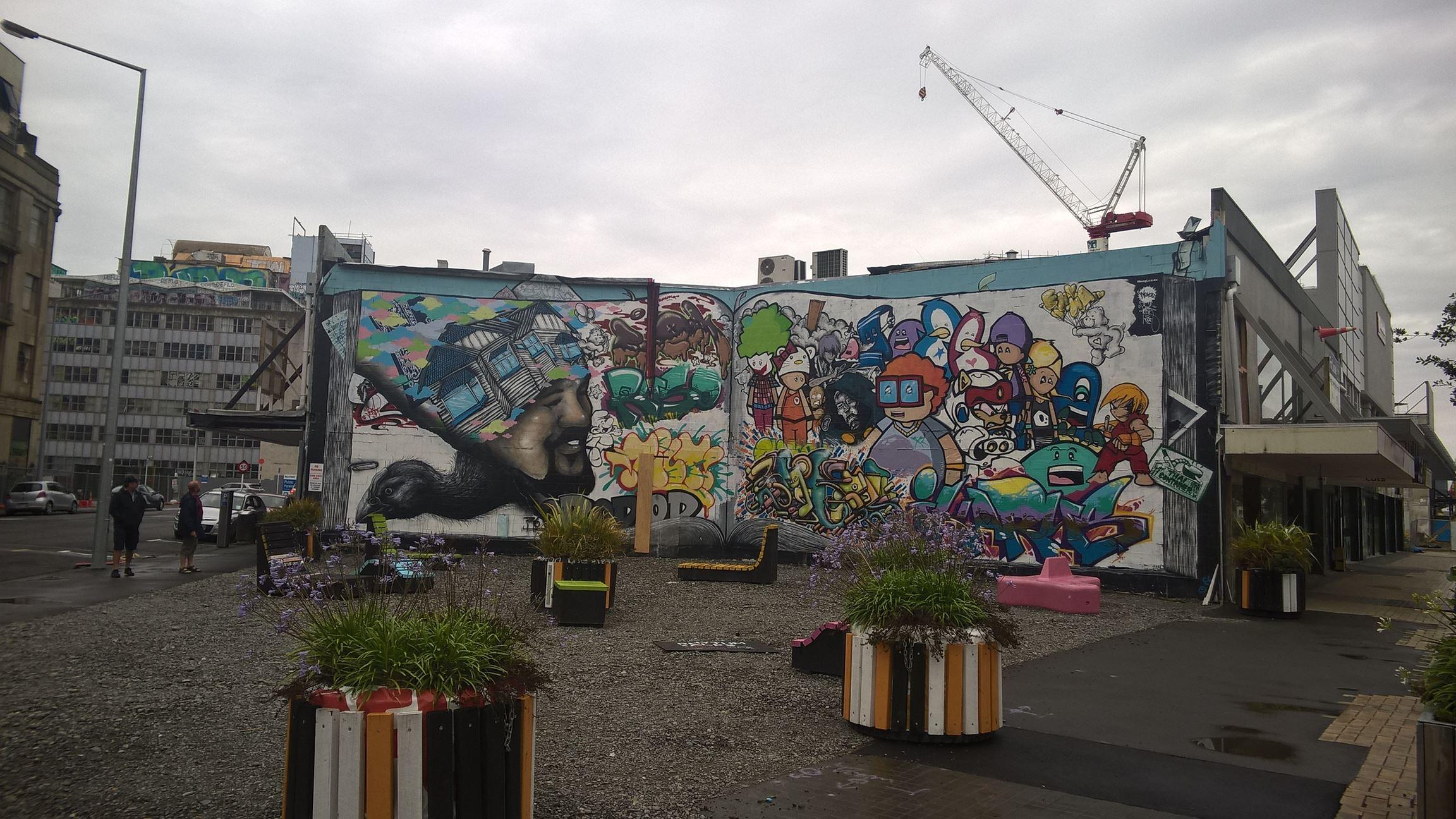 Street Art in Christchurch