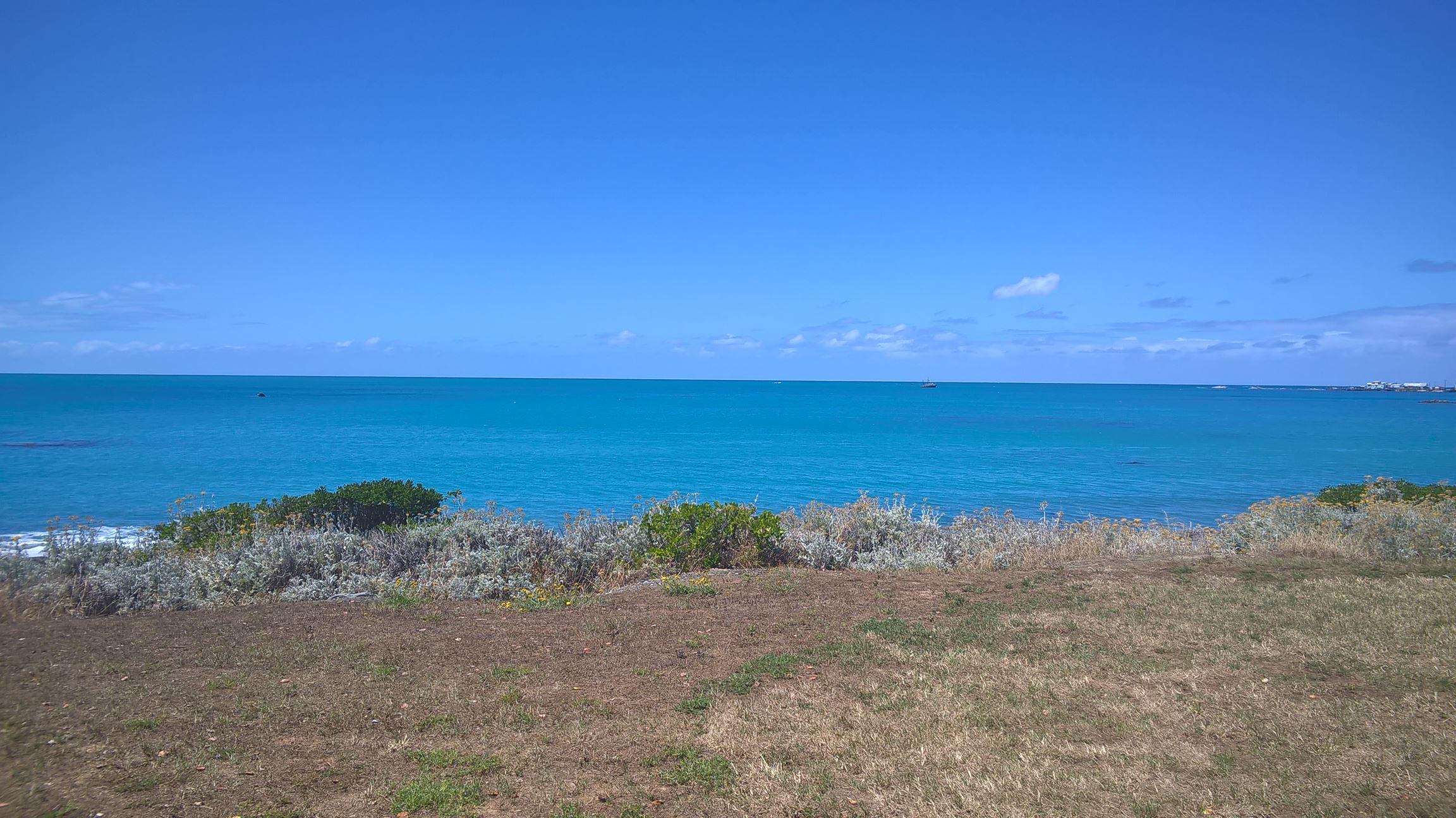 ... unglaublich schön klar und blau
