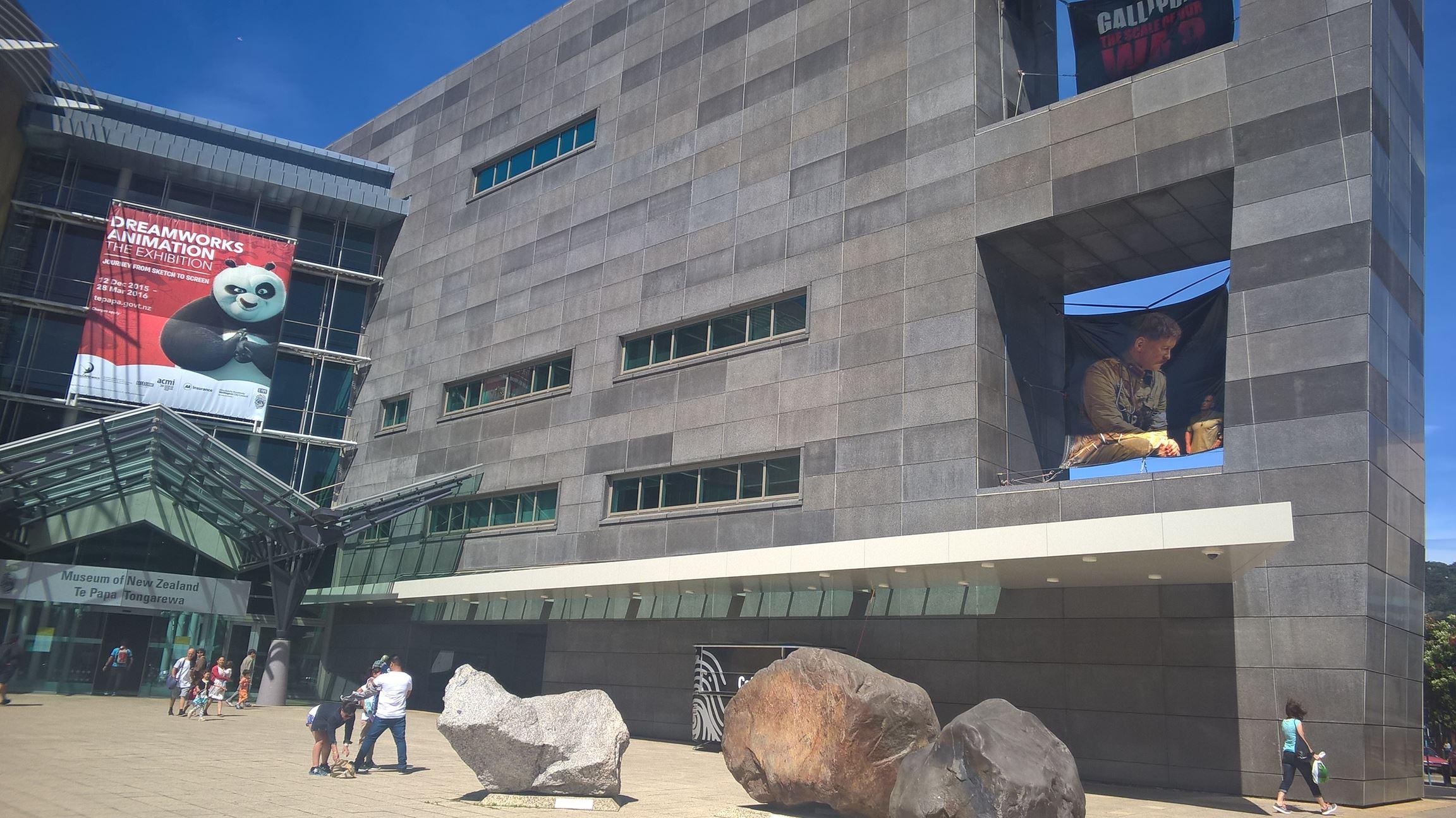 Etwas für die Kultur: Im Museum gibt es mehrere super interessante Ausstellungen