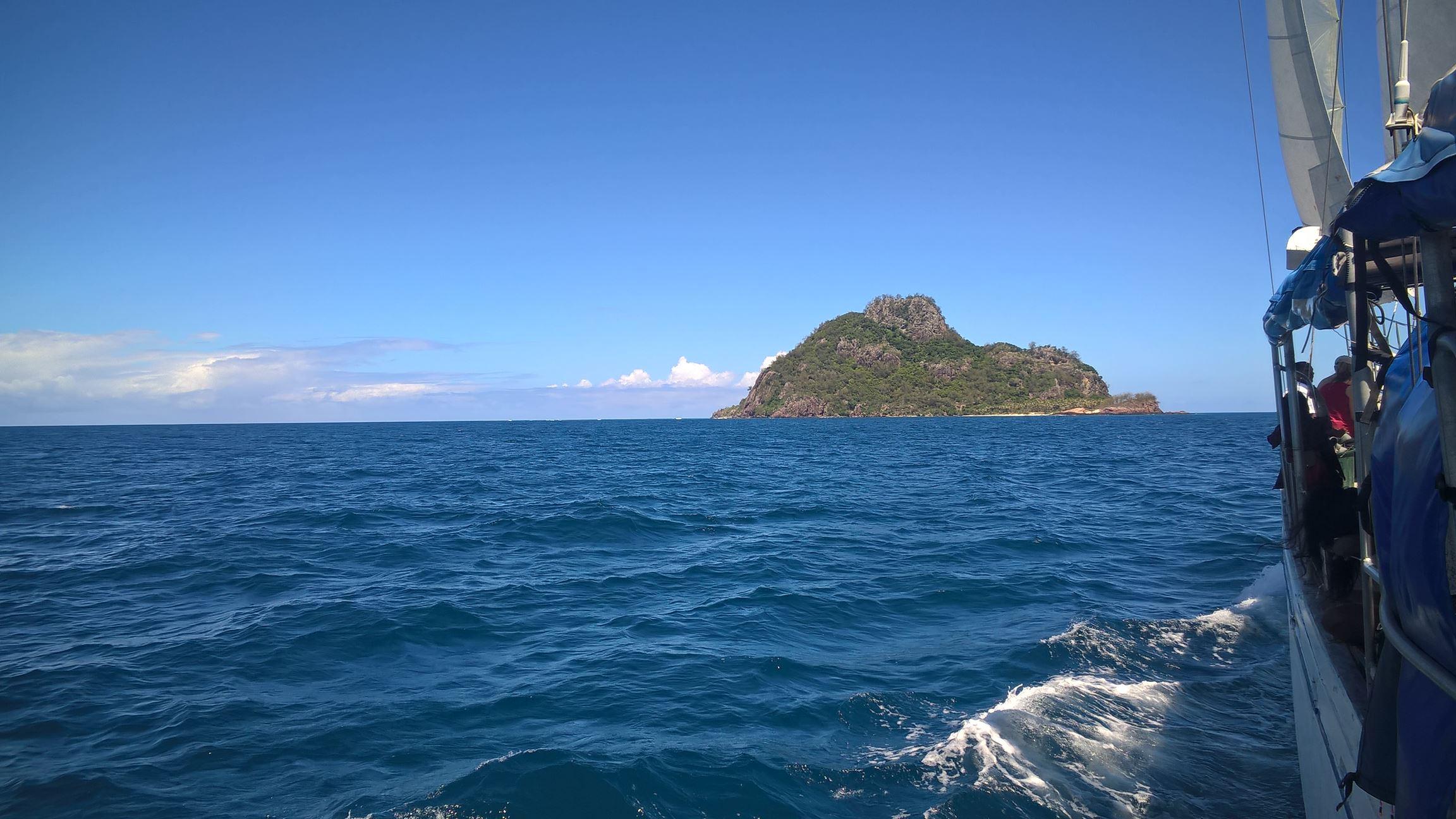 Auf dem Weg zur Cast-Away Insel