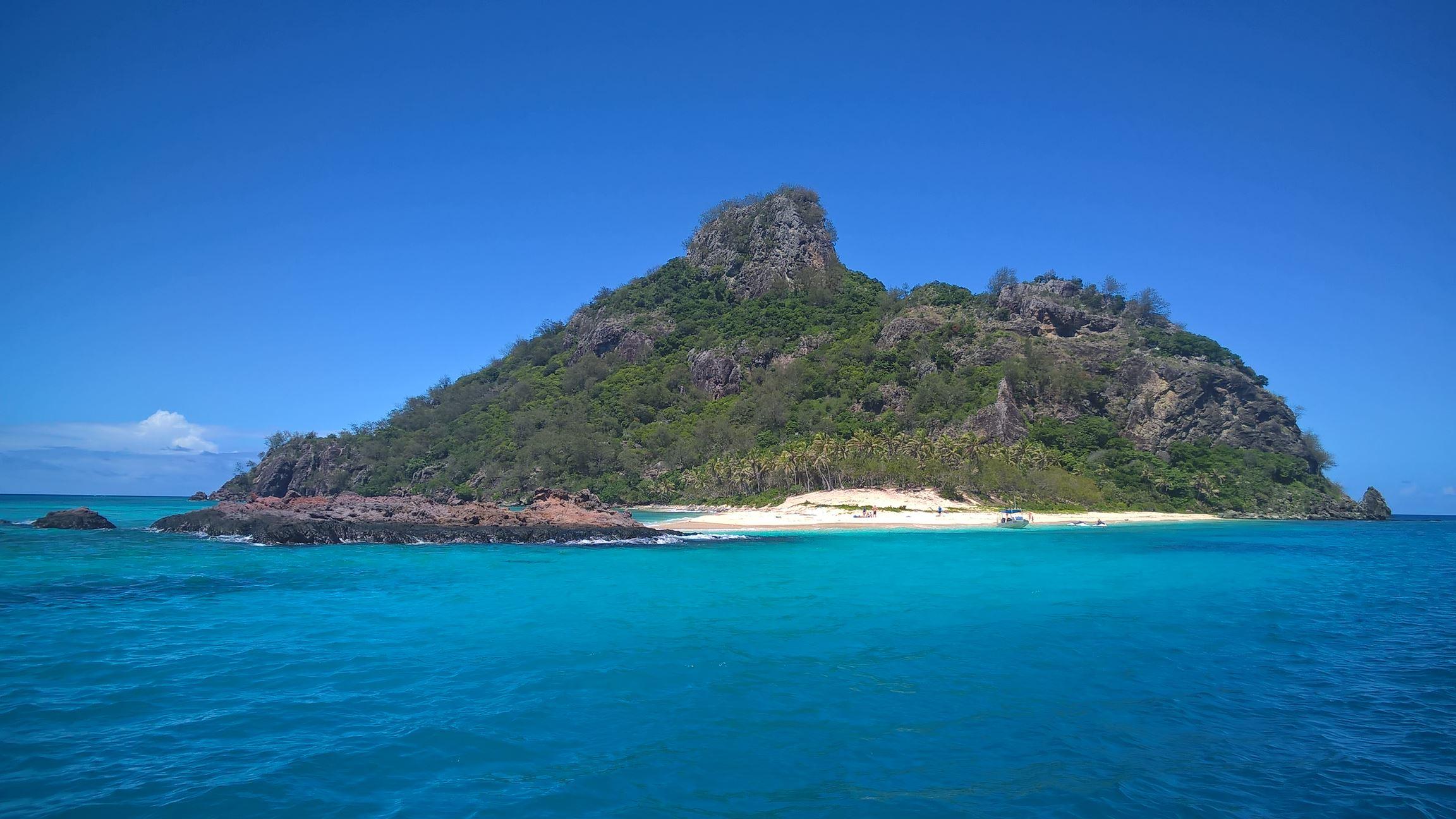Die Cast-Away Insel