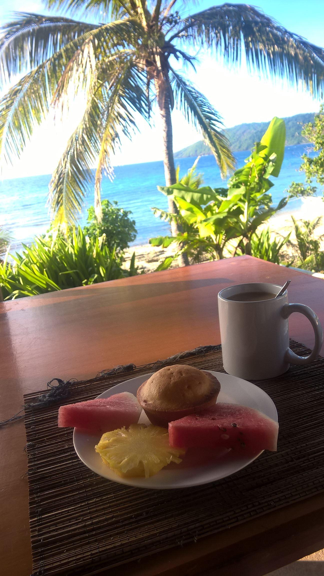 Paradiesisches Frühstück