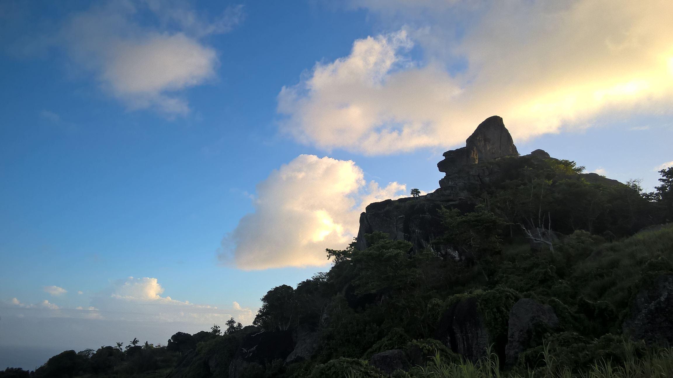 Der Monkey Head wacht über die Insel