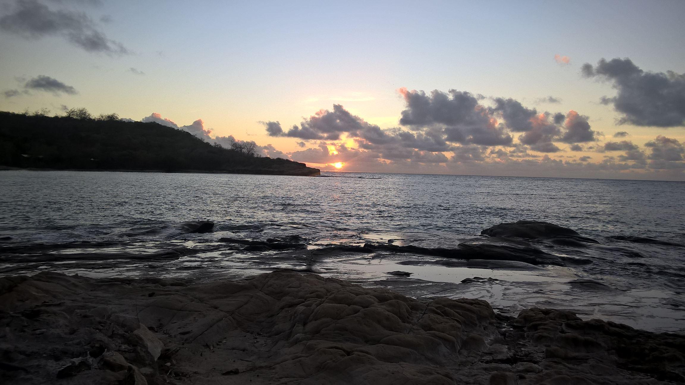 Mal wieder ein Sonnenuntergang...